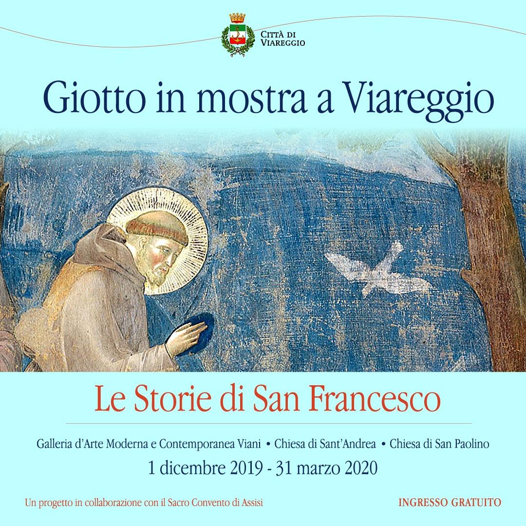 Giotto in mostra a Viareggio