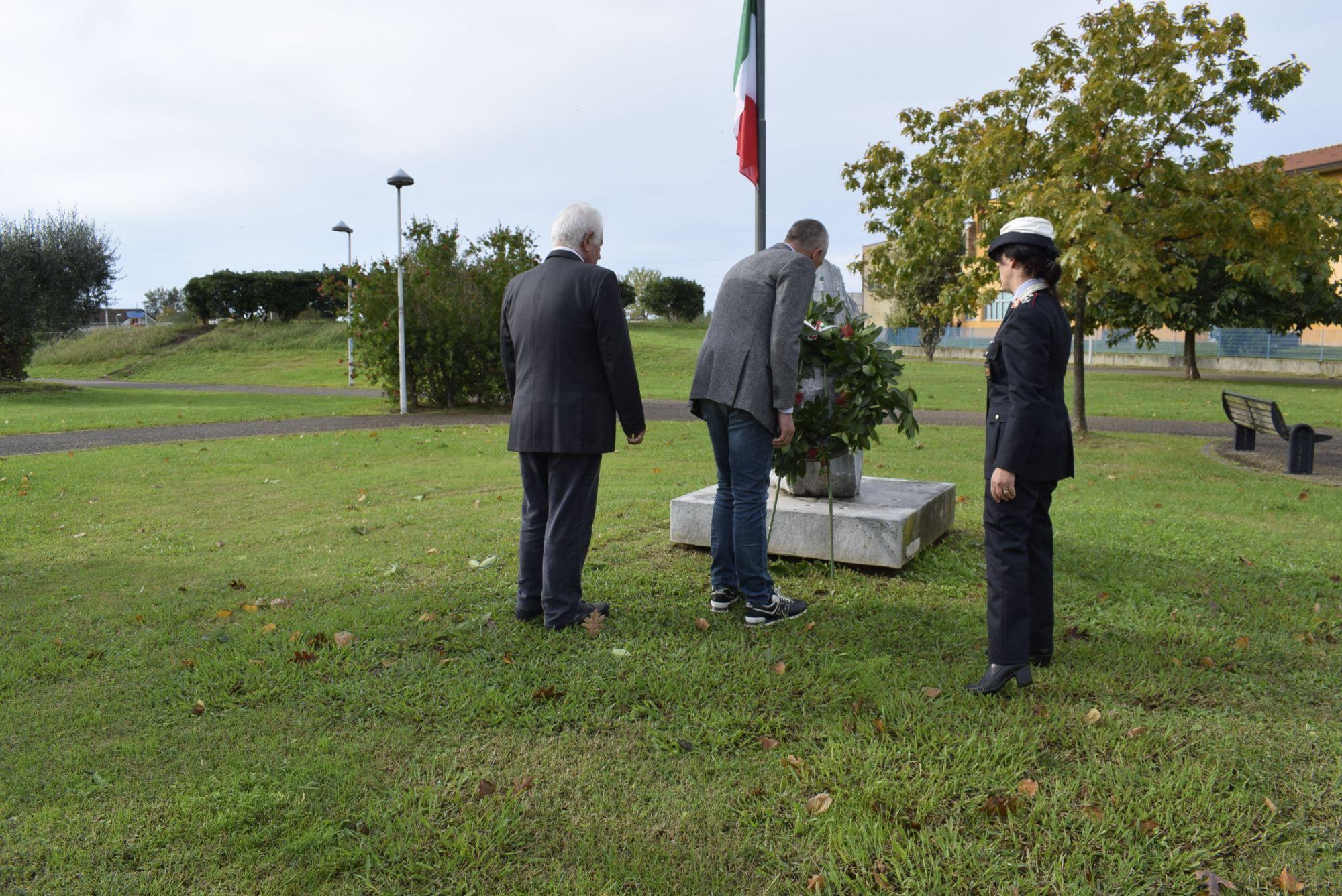 Cerimonia di commemorazione per i caduti di Nassirya