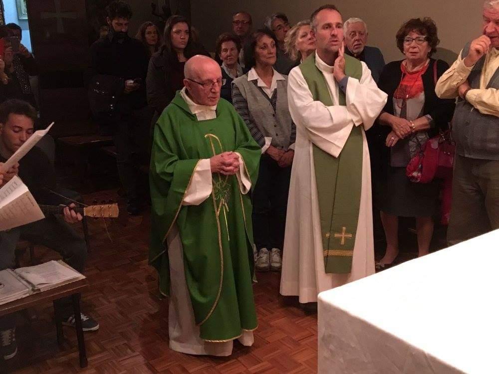 Chiesa di Lucca in lutto per la morte di don Diomede Caselli