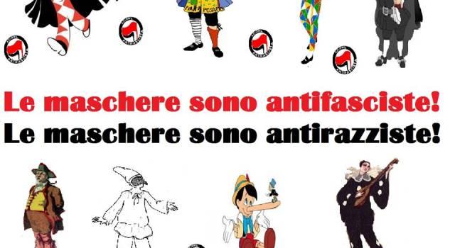 """""""Le maschere sono antifasciste e antirazziste: solidarietà ad Amalia Caprili"""""""