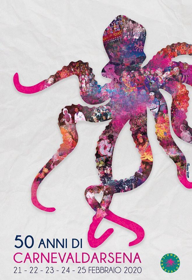 50 anni del CarnevalDarsena: ecco il manifesto