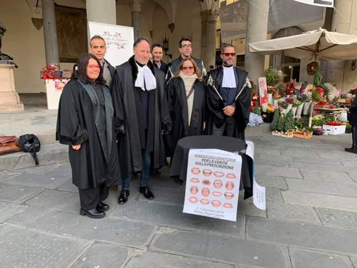 No alla riforma della prescrizione, presidio della Camera Penale di Lucca