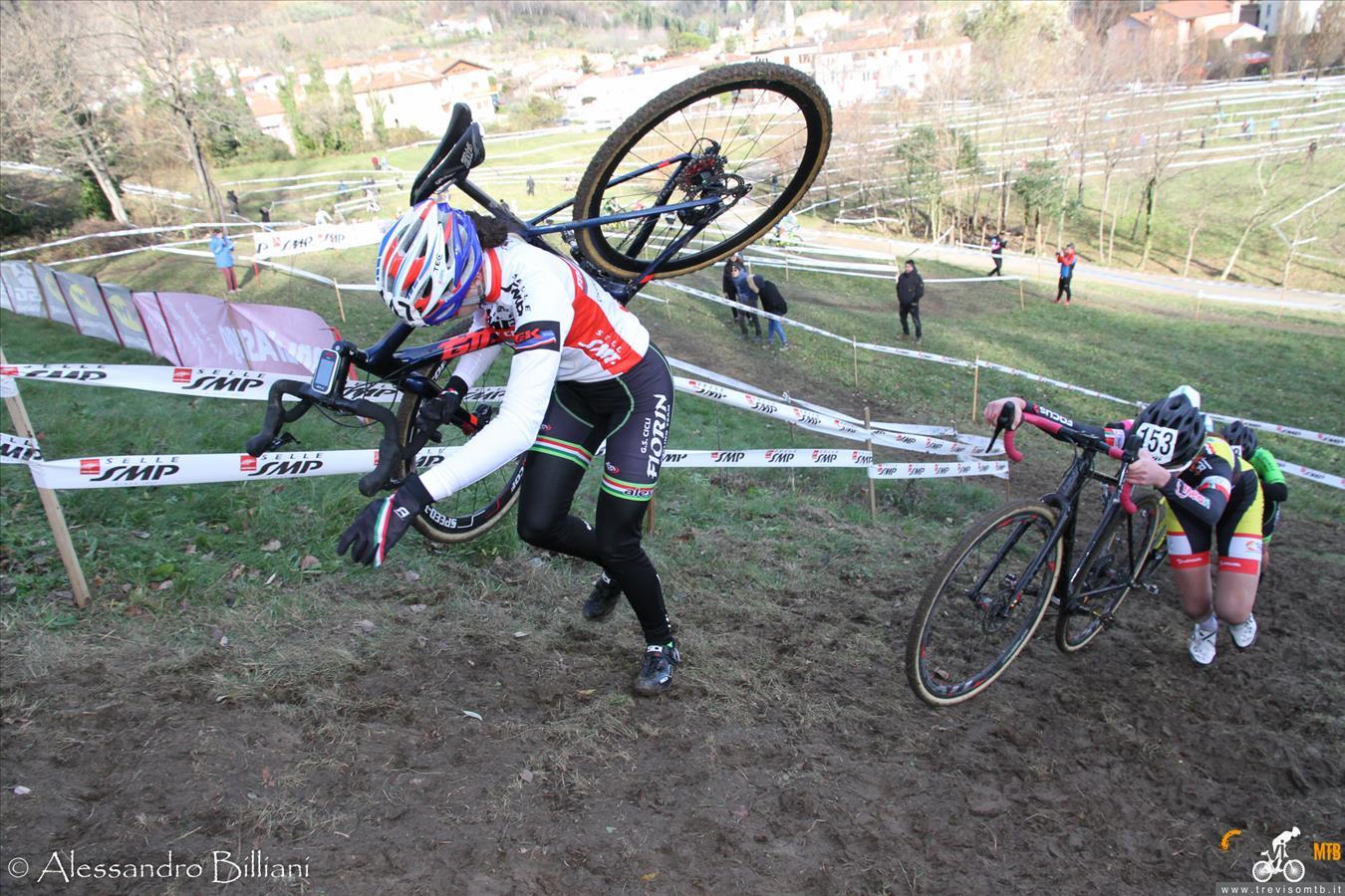 Ottima prova di Francesca Baroniallegare internazionali di ciclocross