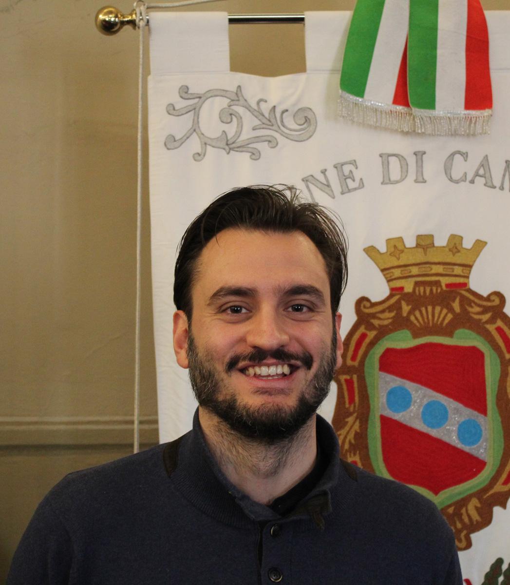 Gabriele Baldaccini è il nuovo assessore al Turismo e Attività Produttive di Camaiore