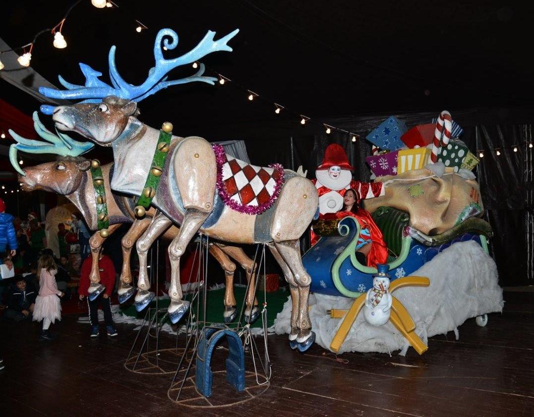 La Cittadella del Carnevale si tinge dei colori del Natale