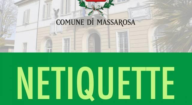 Massarosa approva la Netiquette per i social network