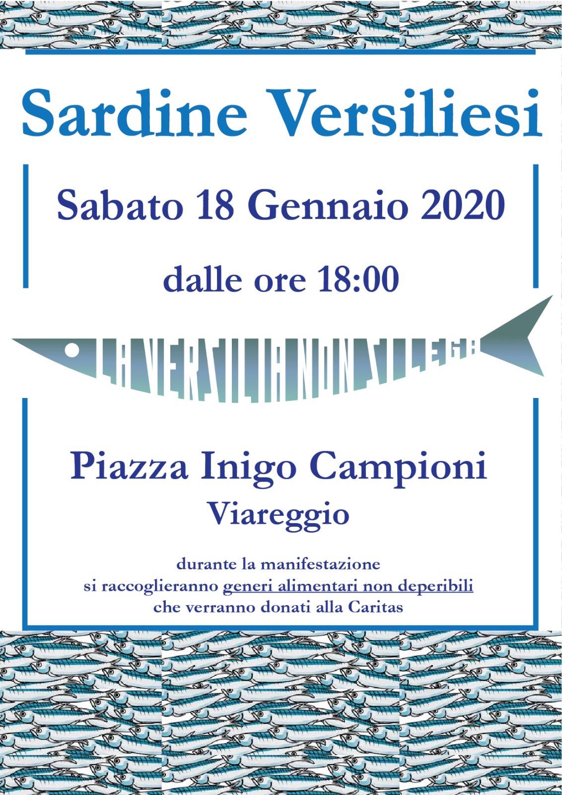 """""""Solidarietà, Accoglienza, Rispetto,Diritti, Inclusione, Nonviolenza, Antifascismo"""": Sardine in piazza Campioni"""