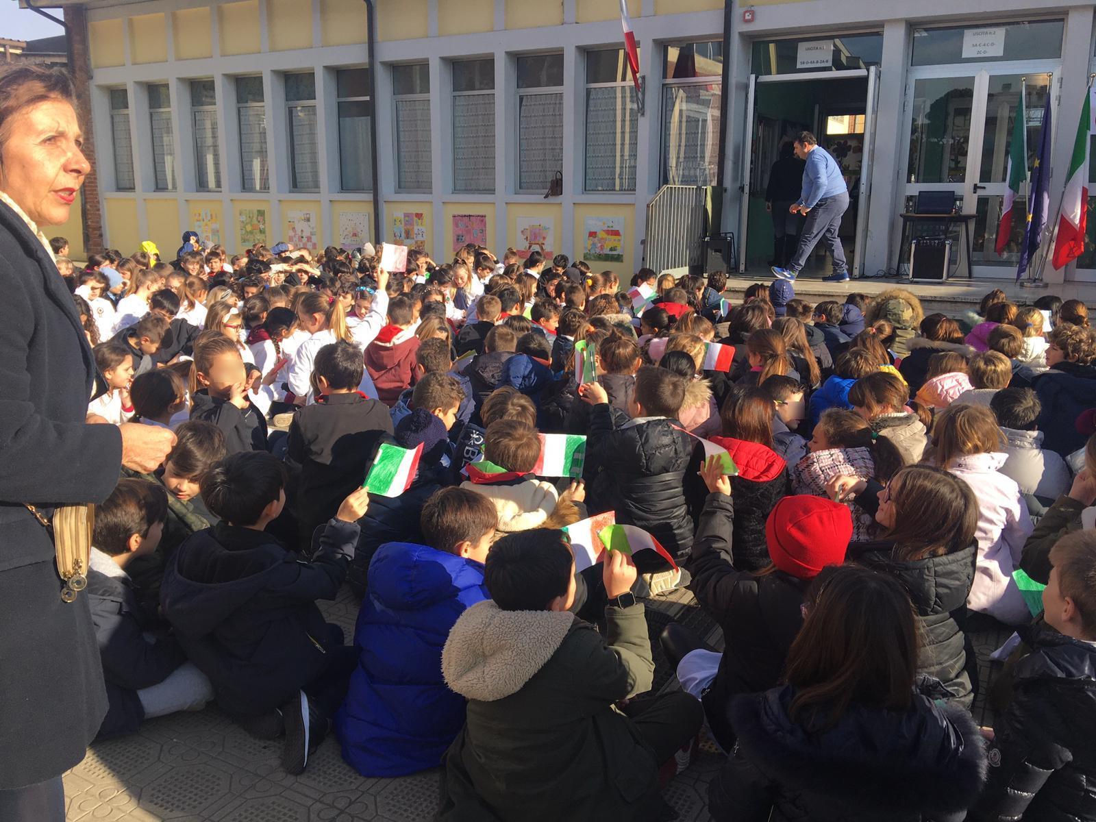 Grande partecipazioni di bimbi per il ricordo di Vera Vassalle