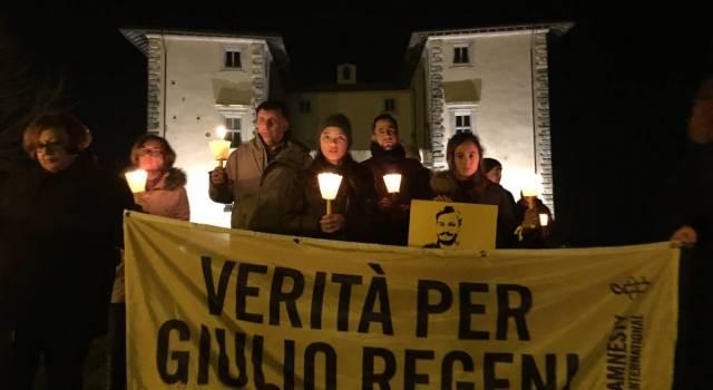 Folta partecipazione alla fiaccolata per Giulio Regeni