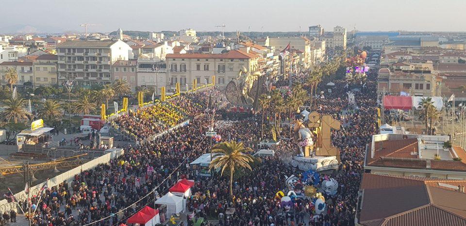 Carnevale, modifiche al traffico a Viareggio