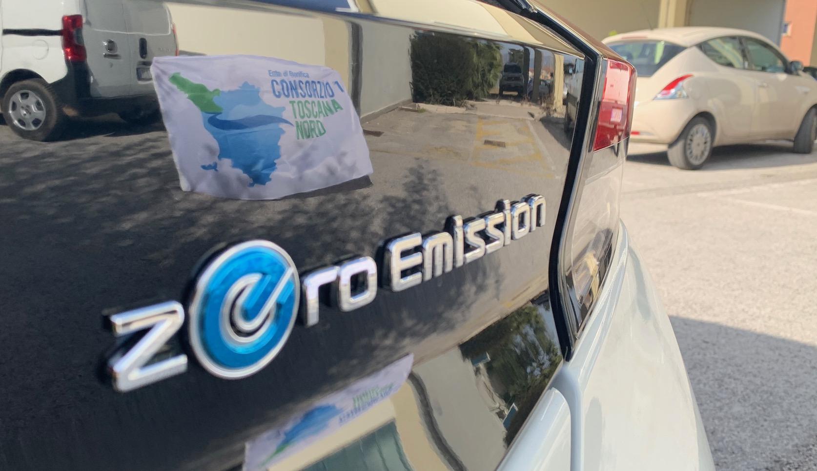 Il Consorzio festeggia l'arrivo della prima auto elettrica