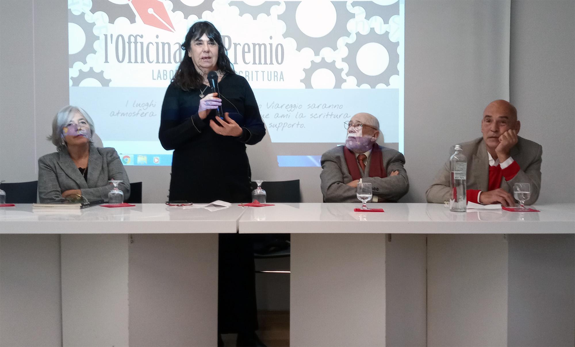 Presentata la scuola di scrittura Officina del Premio