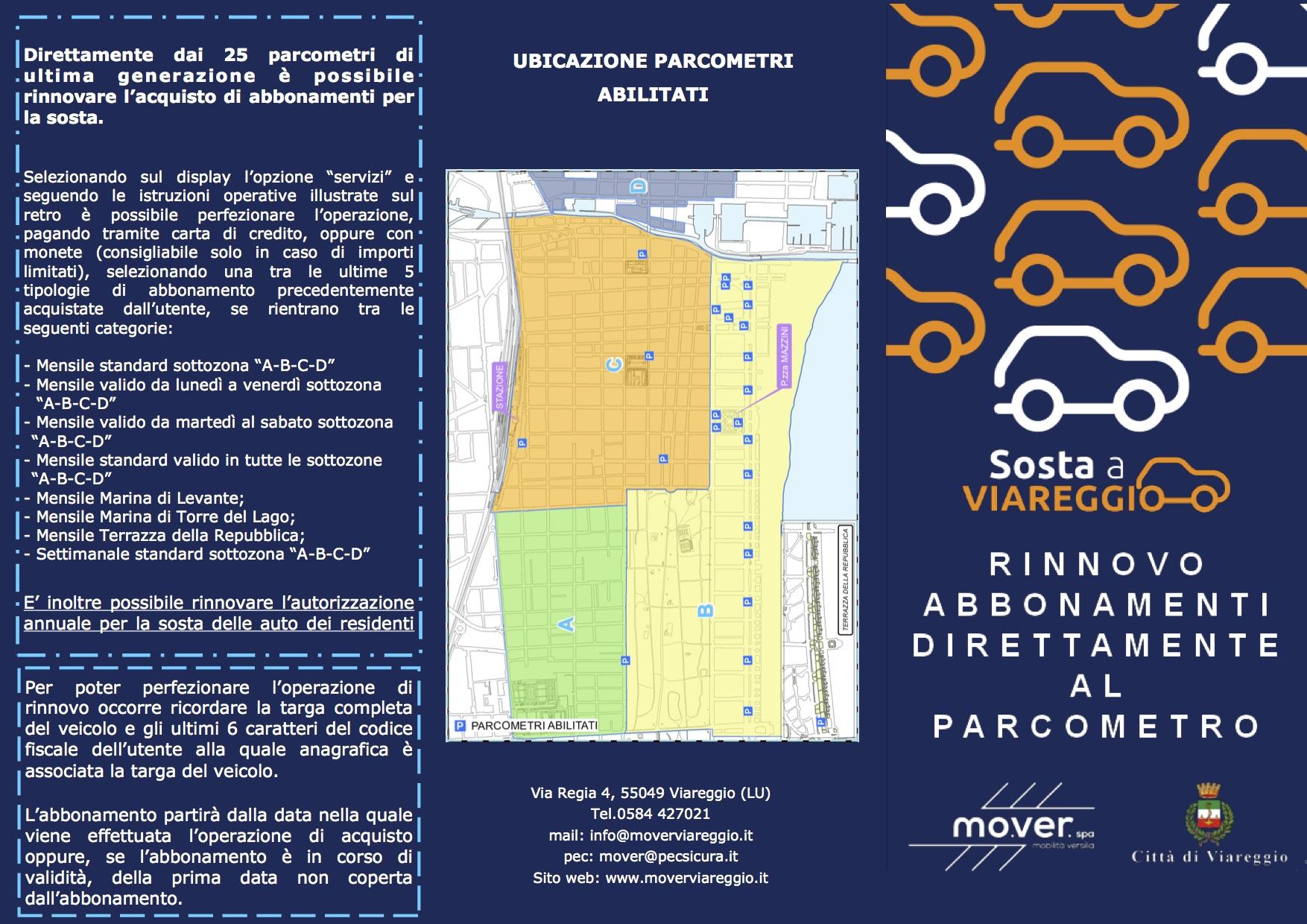 Parcheggi, le autorizzazioni per i residenti si rinnovano entro il 31 gennaio on line o ai parcometri