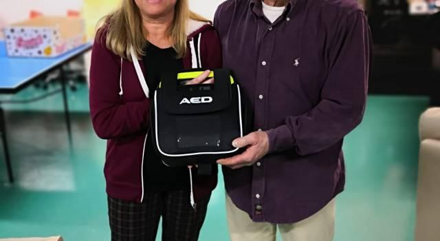 Donazione di un defibrillatore da parte della SOVIT srl al Gruppo Scout Agesci Capezzano 1