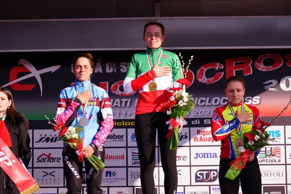 Ciclocross, Francesca Baroni vince il campionato italiano under 23