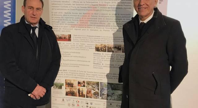 Il Comune di Seravezza premiato con il suo Contratto di Fiume del Torrente Serra a Genova