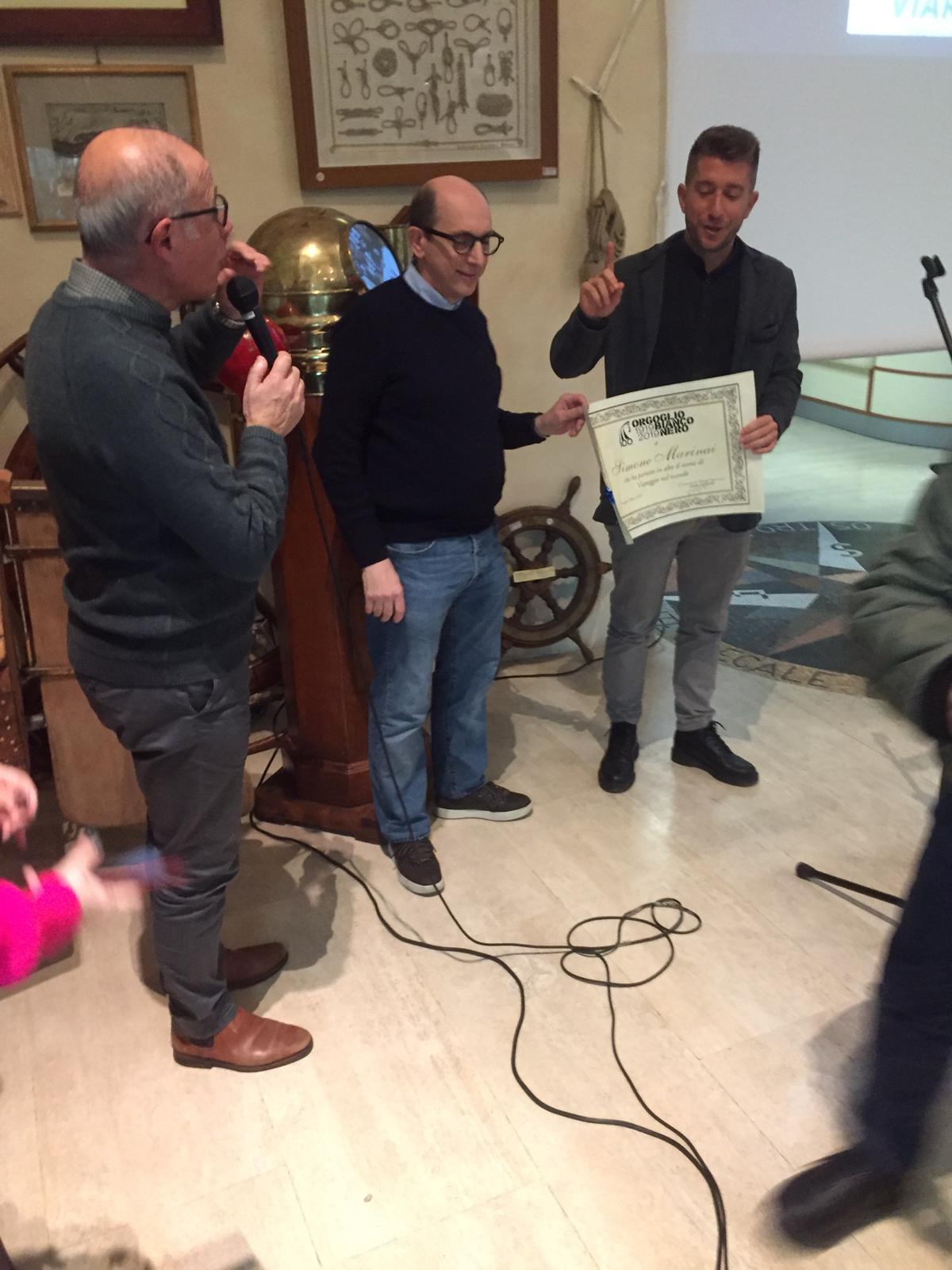 """""""Orgoglio Bianconero"""" al Museo della Marineria: un forte legame con la città"""