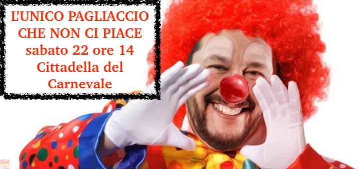 Viareggio Meticcia chiama a raccolta, sit in goliardico in Cittadella contro Matteo Salvini