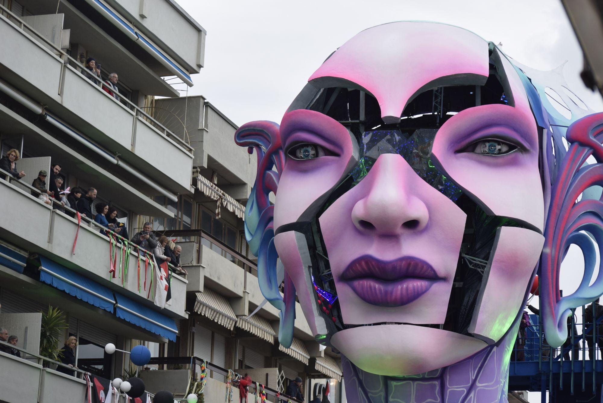 Carnevale di Viareggio in foto