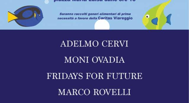 Sardine in piazza domani a Viareggio: partecipa anche Jasmine Cristallo