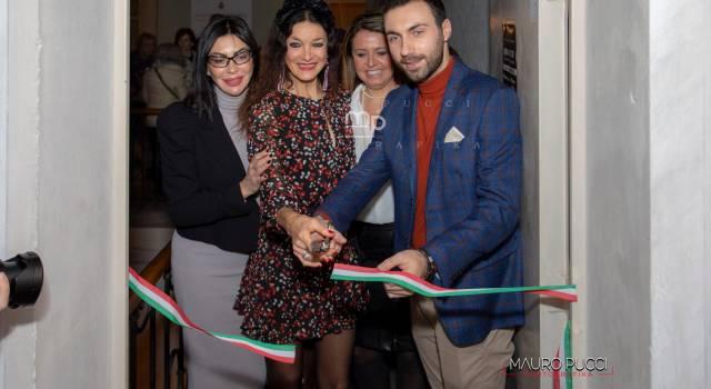 Andrea Pucci in mostra a villa Paolina, la fotogallery di Mauro Pucci