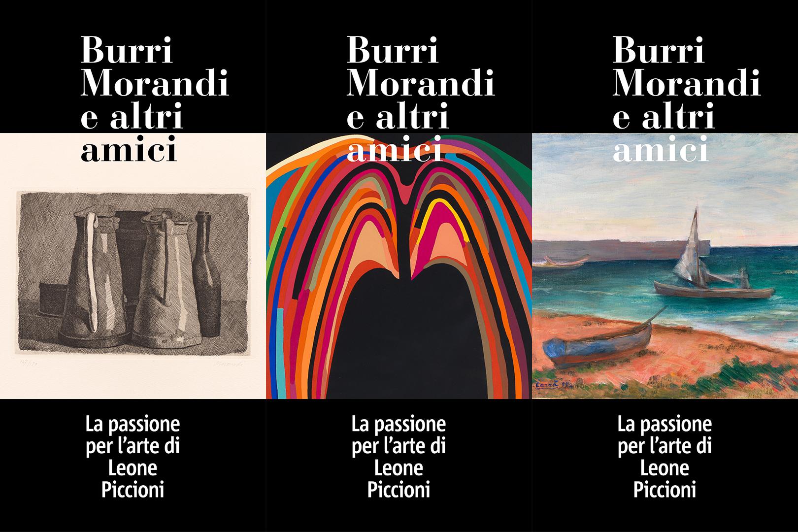 """Pregevole bilancio per la mostra """"Burri Morandi e altri amici. La passione per l'arte di Leone Piccioni"""""""