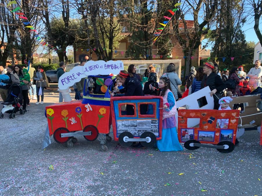 Grande successo per il CarnevalFortebambinino