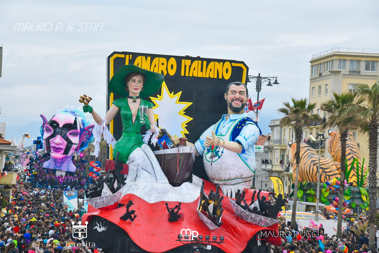 """Salvini a Viareggio: """"La Toscana è libera da 75 anni. Libera grazie anche alla Resistenza e alla lotta partigiana"""""""