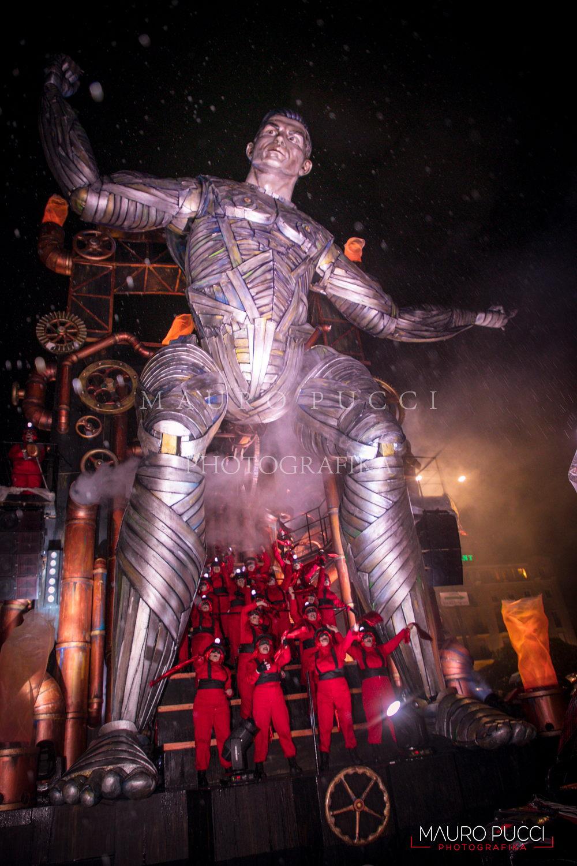Il primo corso di Carnevale nelle foto di Mauro Pucci
