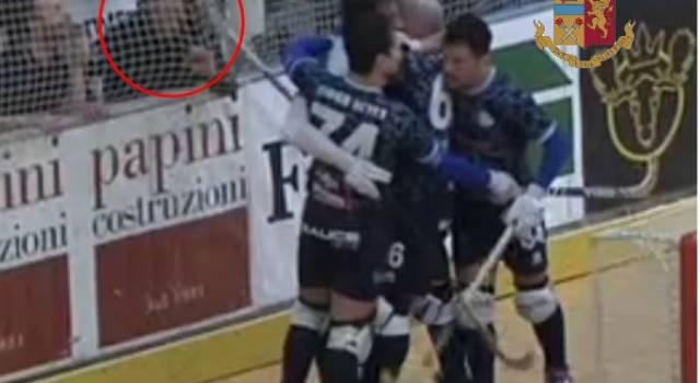Tifoso colpito al palasport di Forte dei Marmi da un giocatore del Trissino: scattano i Daspo