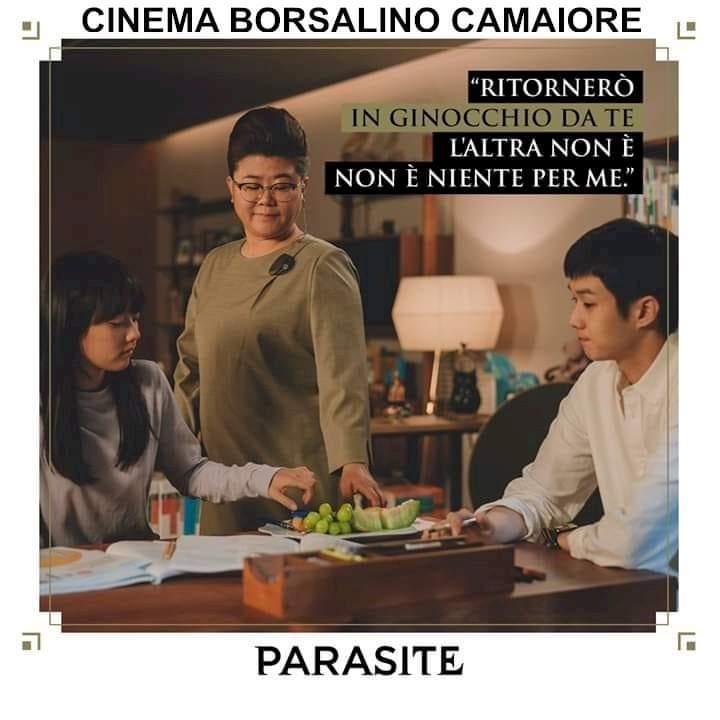 Cinema, a Seravezza l'omaggio a Bong Joon Ho