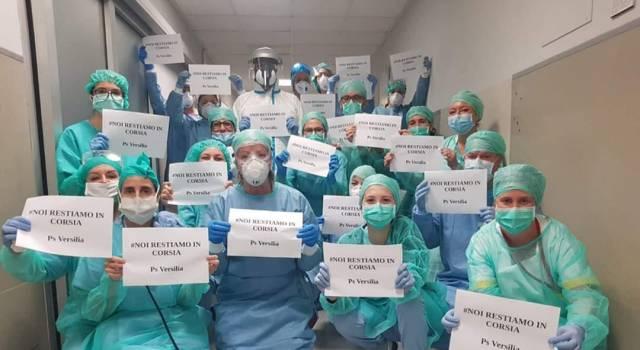 Il gruppo intercomunale Seravezza, Stazzema e Forte dei Marmi dell'Aido ha donato 30mila paia di guanti in nitrile agli ospedali Versilia e Noa