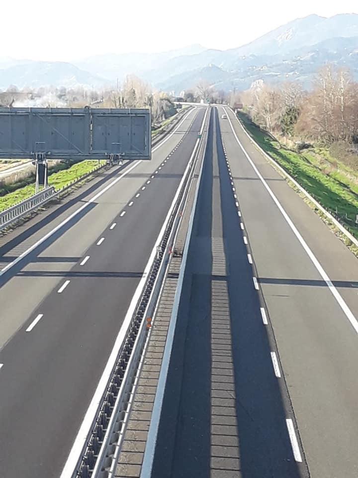 Emergenza Covid 19, stop ai pedaggi per il personale sanitario sulle autostrade Salt