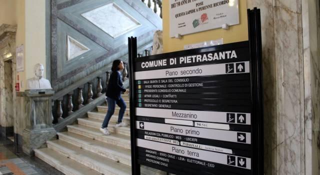 Il Comune di Pietrasanta cerca un dirigente a tempo determinato e quattro tecnici a tempo indeterminato