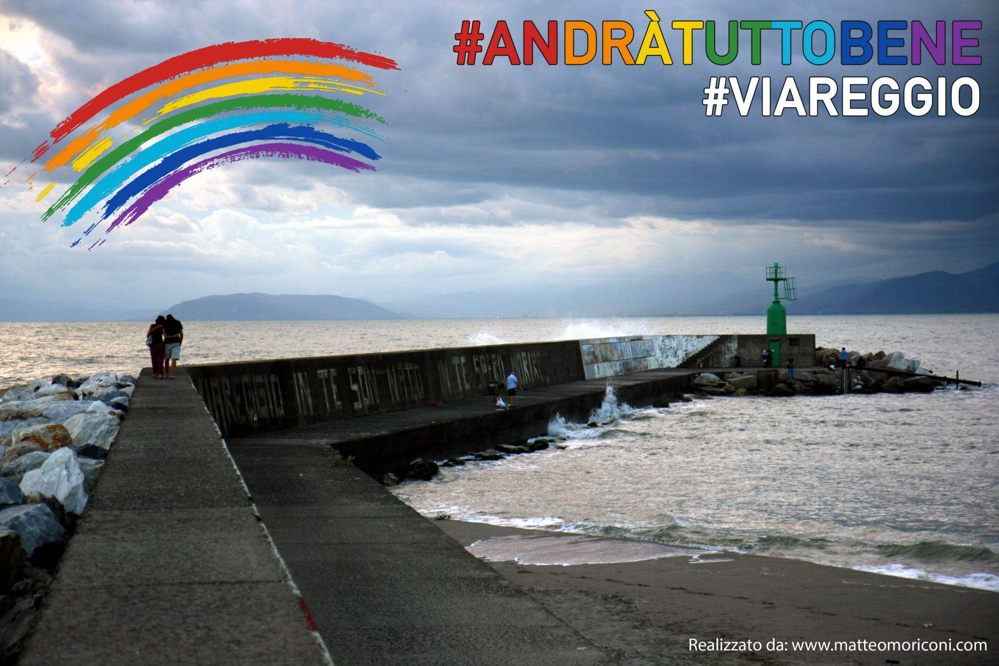 Coronavirus, Viareggio tra strade e spiagge deserte e nel silenzio: il video della Protezione Civile