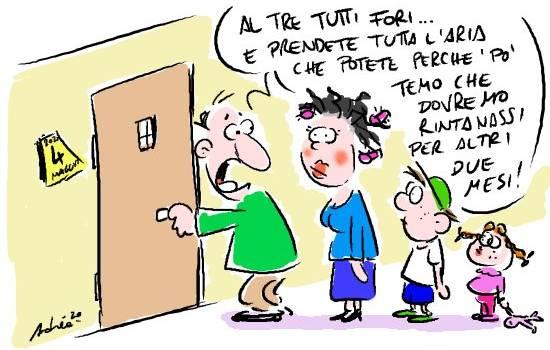 Fase 2, la vignetta di Andrea Vassalle