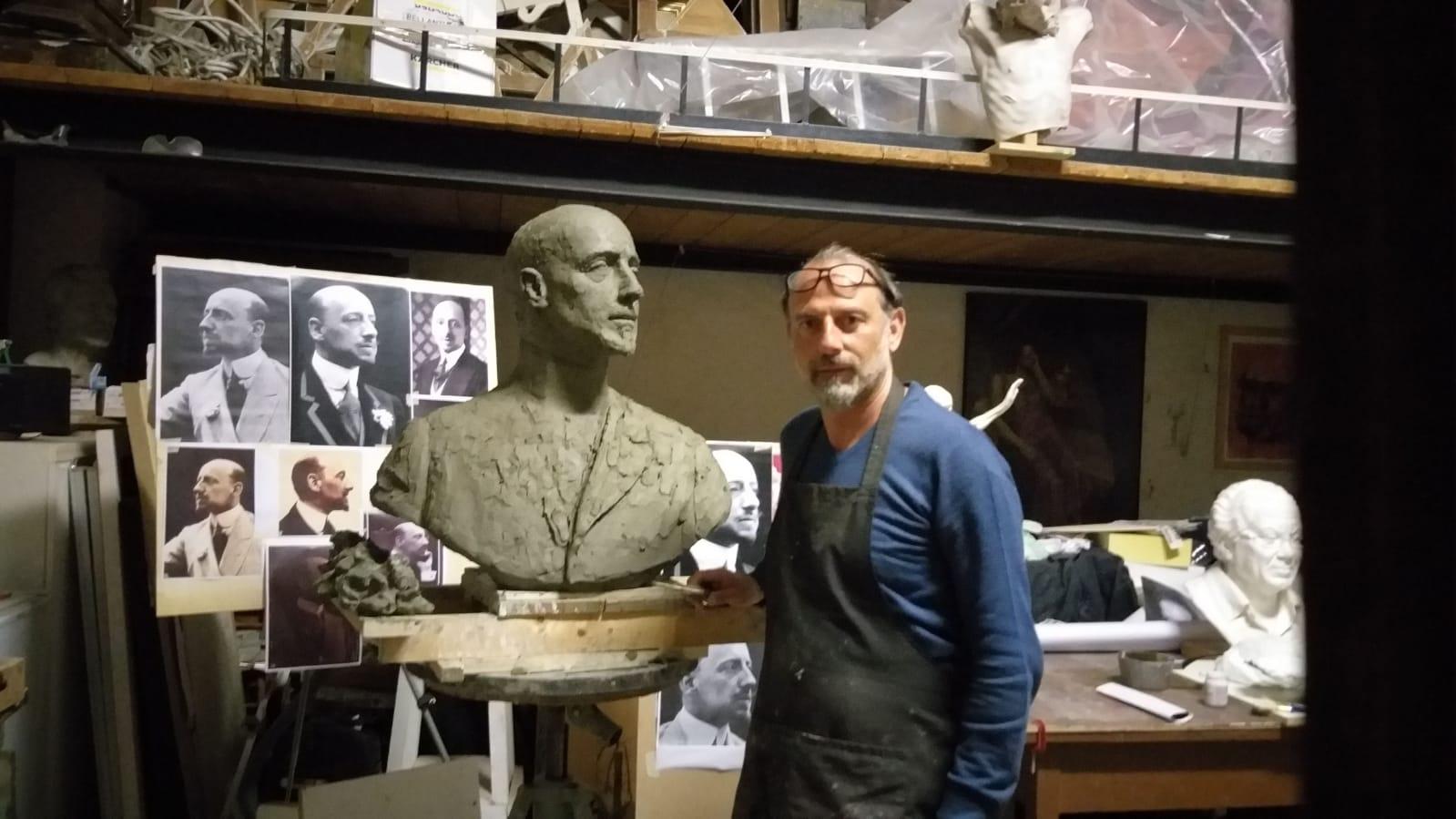 Versiliana, in preparazione il busto di Gabriele d'Annunzio e la Fondazione lavora per ripartire