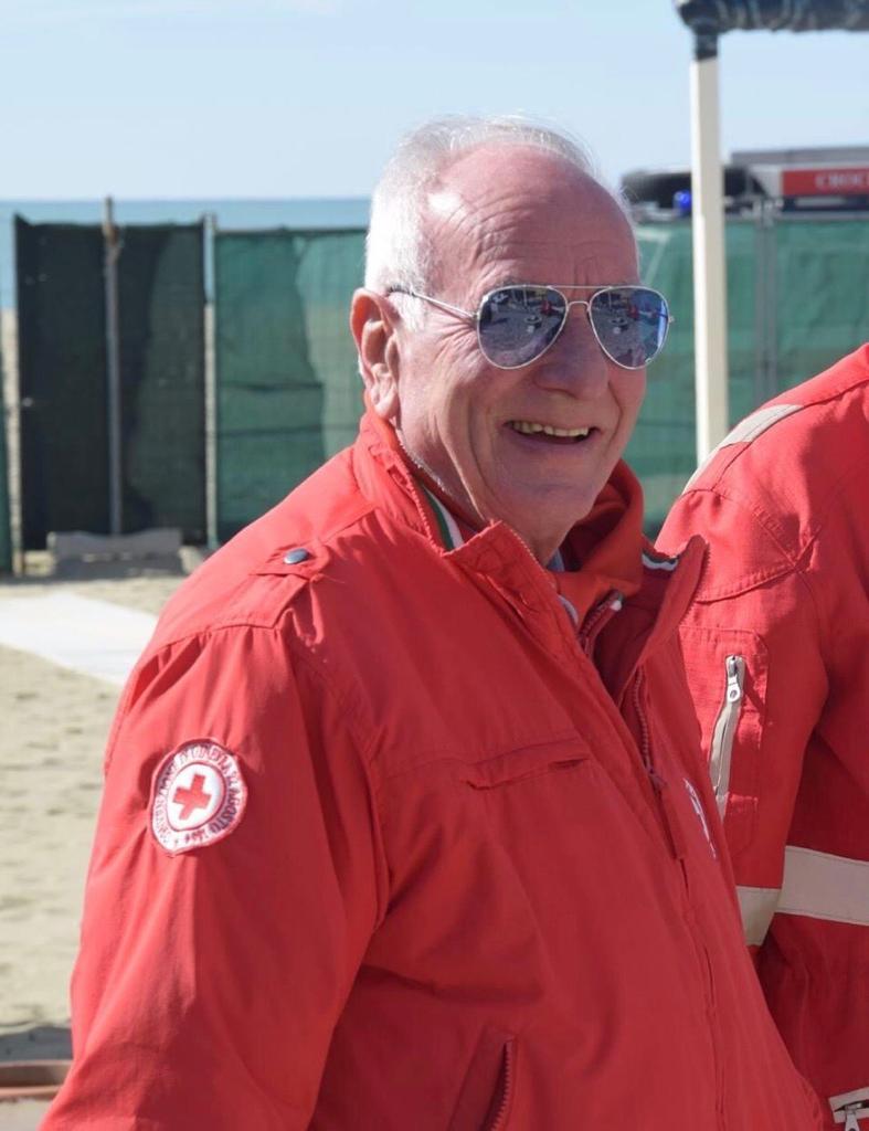 Lutto alla Croce Rossa di Viareggio, è morto Valfredo Scarpellini
