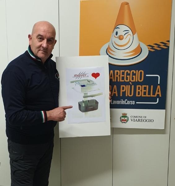 """La Mover e il suo presidente Vassalle acquistano un macchinario e lo donano a Cardiologia del """"Versilia"""""""