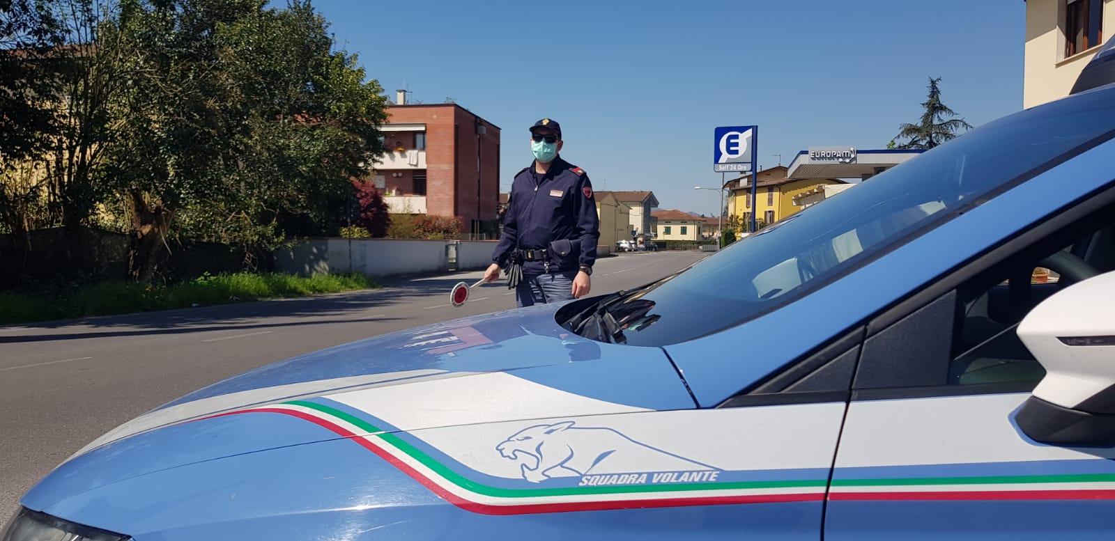 Inseguito dalla Digos e fermato: il giovane si era spostato dalla Liguria per trovare i nonni
