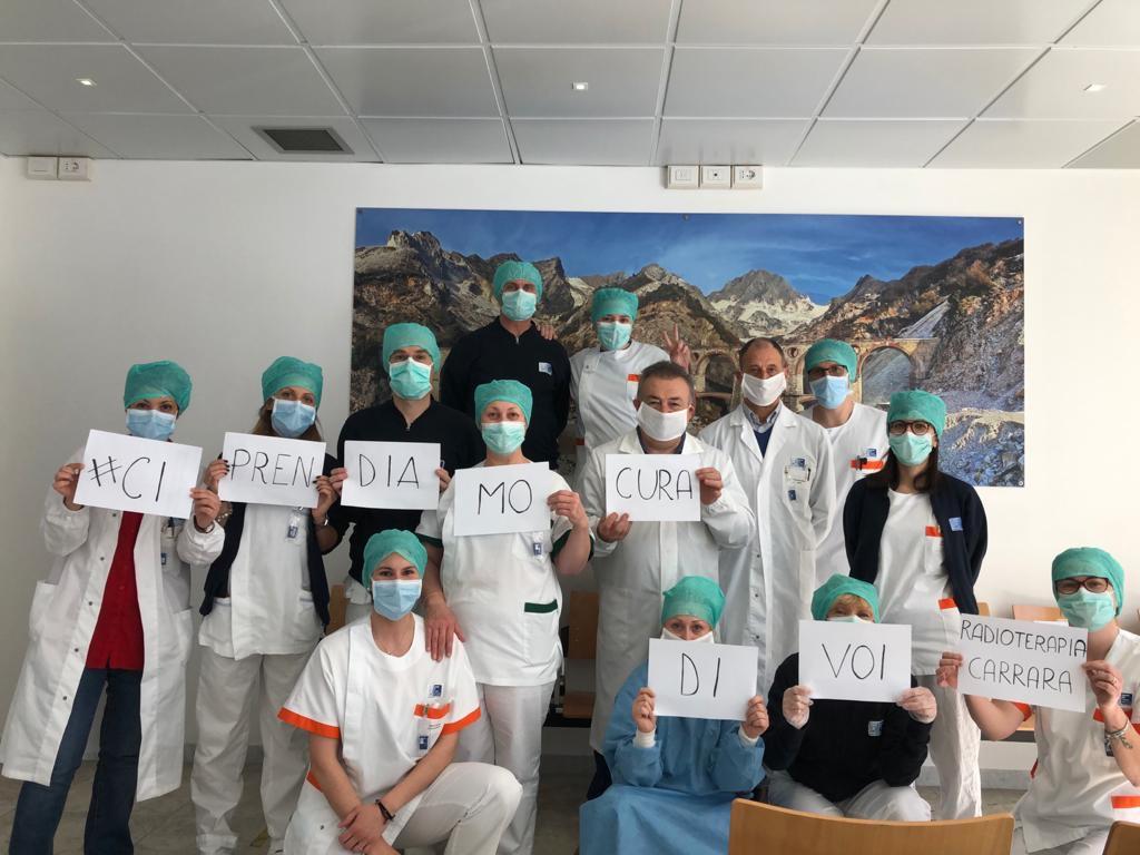 Carrara: test sierologici sugli operatori in radioterapia e senologia. Nessun contagio