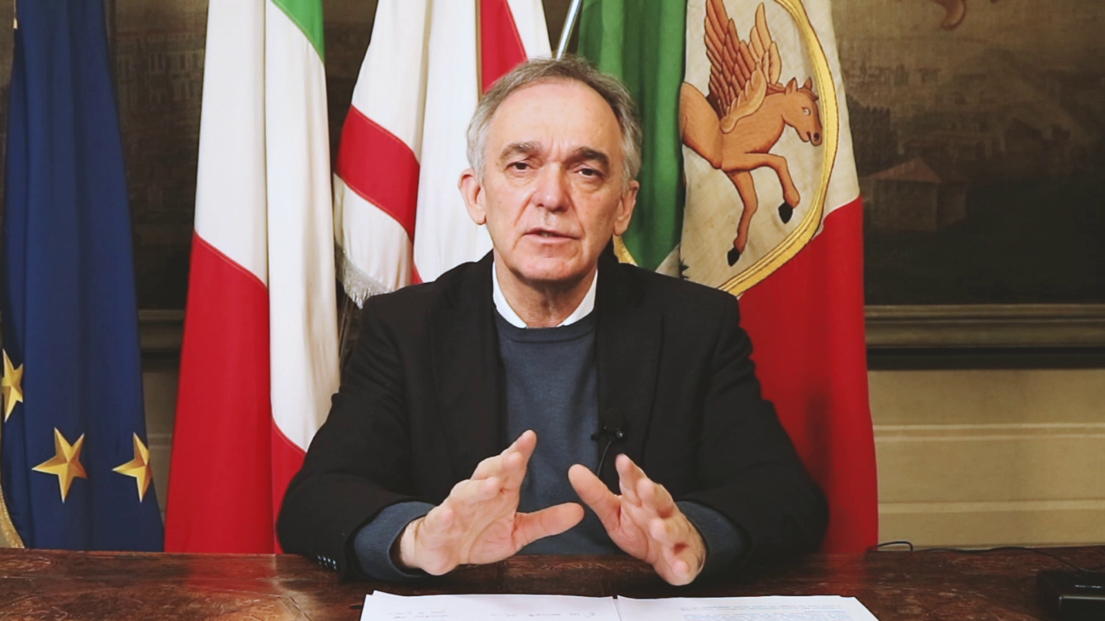 """25 aprile, video del presidente Rossi: """"Dalla Liberazione idee e valori per il futuro"""""""