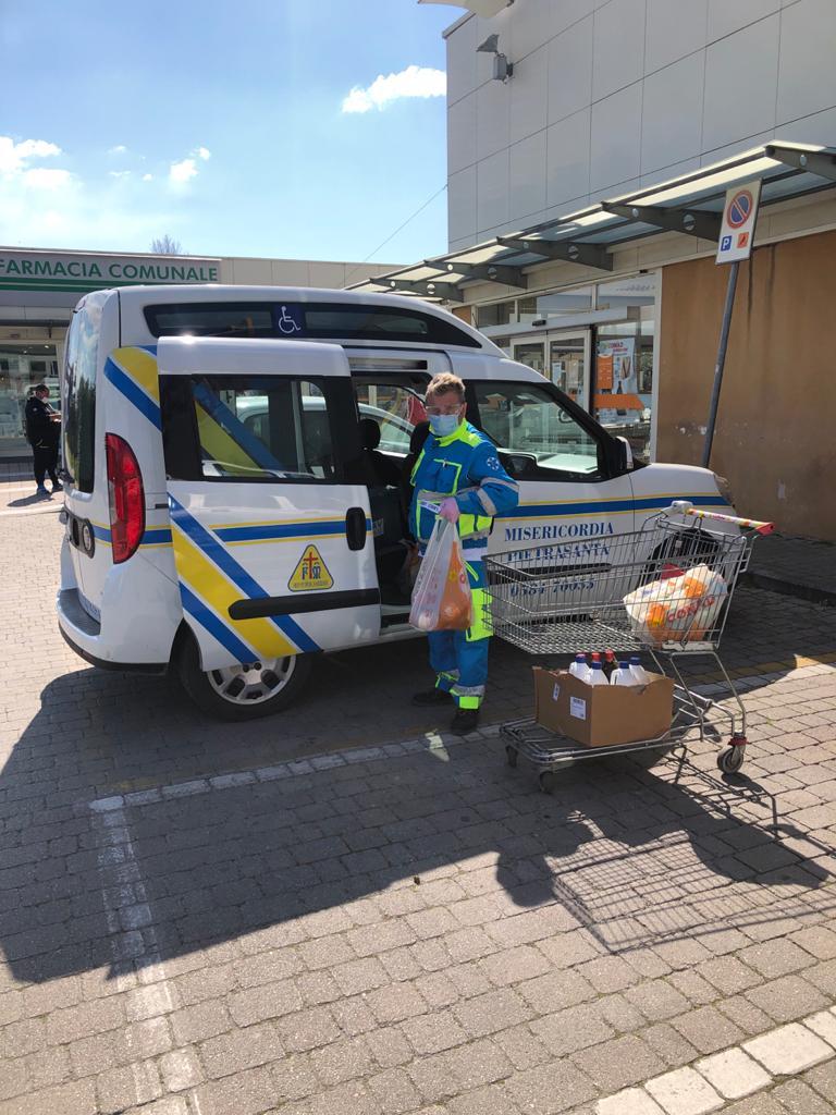 Emergenza sanitaria, spesa a domicilio per cittadini in quarantena