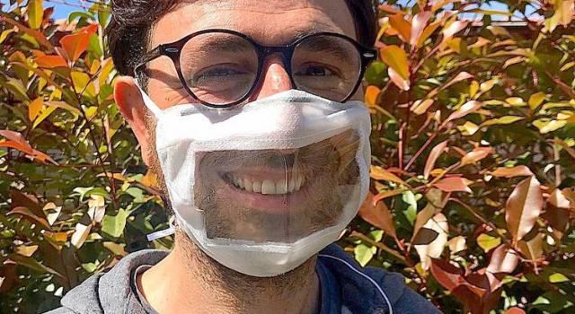 Pietrasanta distribuirà mascherine trasparenti per non udenti, l'idea di una giovane studentessa americana per consentire di poter leggere il labiale