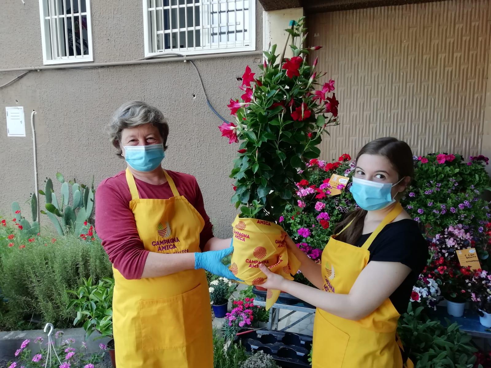 Fase 2, festa della mamma: fiori anticrisi per 3 cittadini su 4