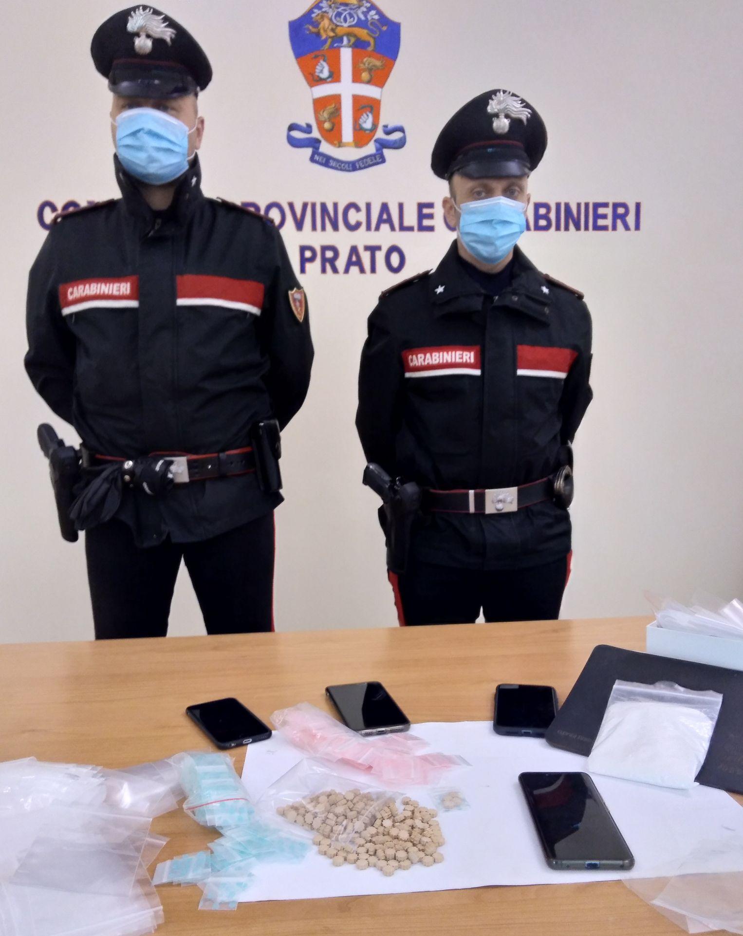 Un arresto ed il sequestro di un ingente quantitativo di droga sintetica