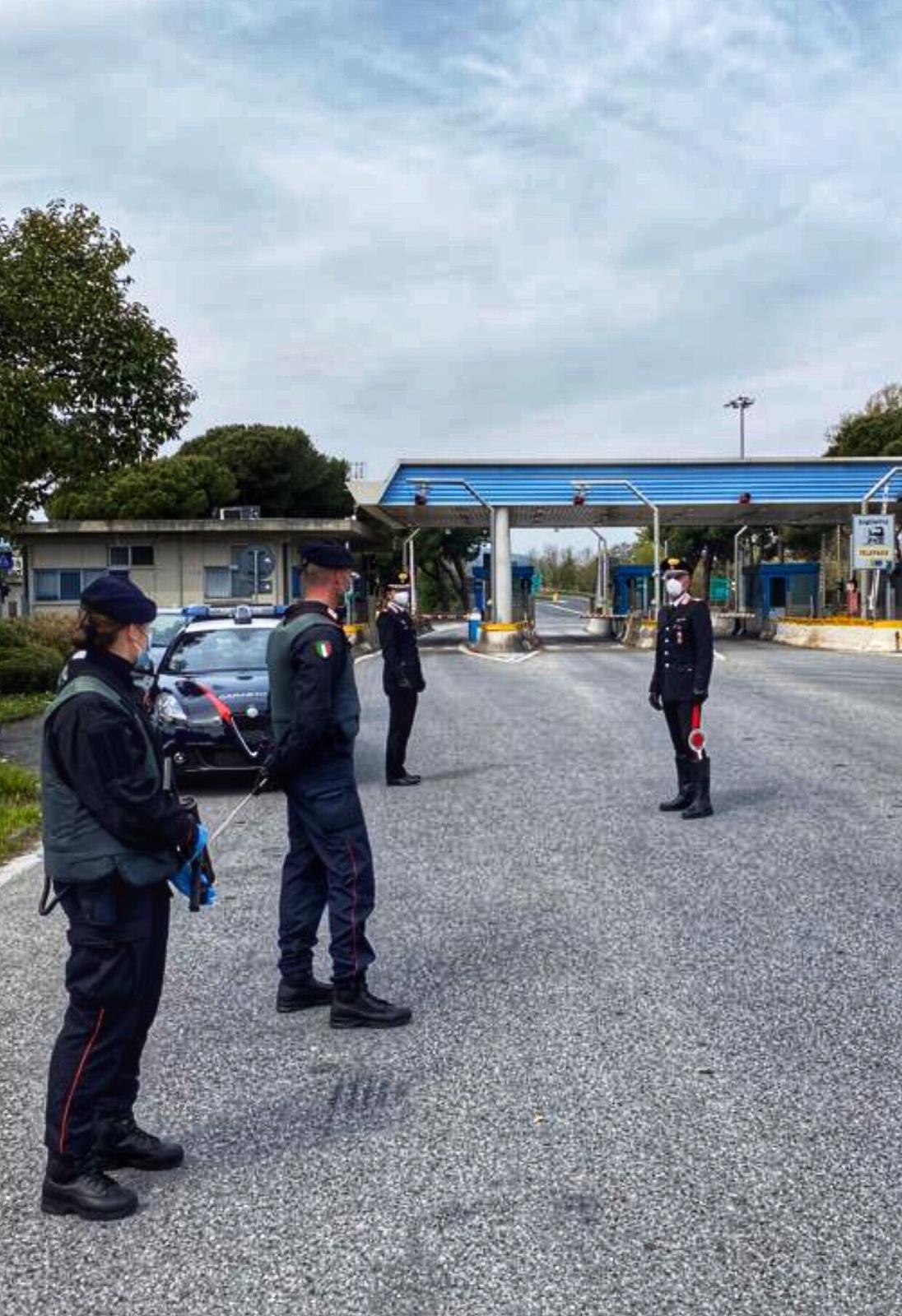 Fase 2, proseguono i controlli dei Carabinieri