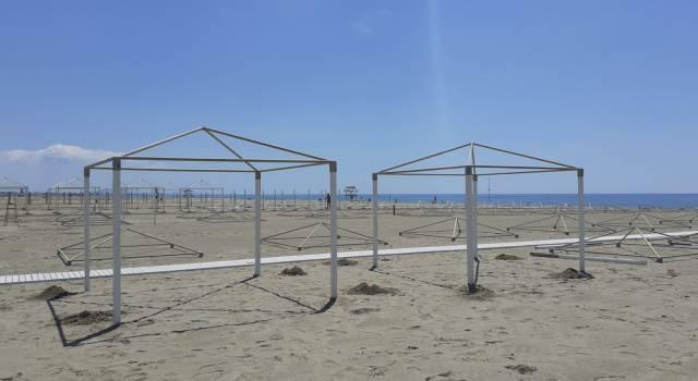 1000 ombrelloni gratis a lido di Camaiore il primo giorno di apertura