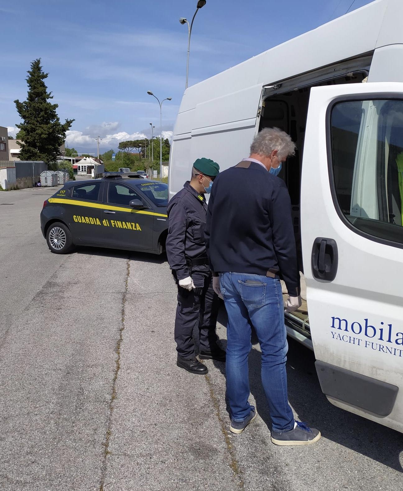 Ritrovato dalle Fiamme Gialle furgone rubato