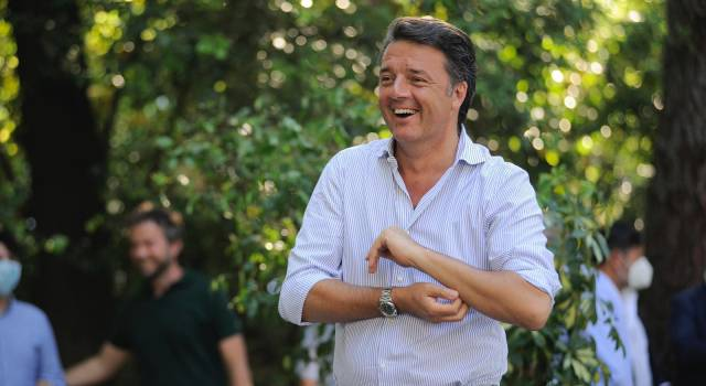 Matteo Renzi Villa bertelli